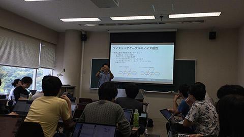 慶応大学での寄付講座が9月26日から始まりました。